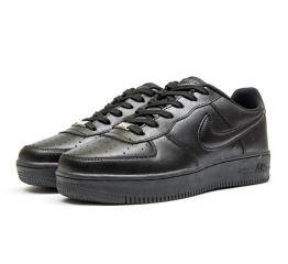 Купить Жіночі кросівки Nike Air Force 1 чорні