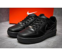 Купить Мужские кроссовки Nike Air Force 1 черные в Украине