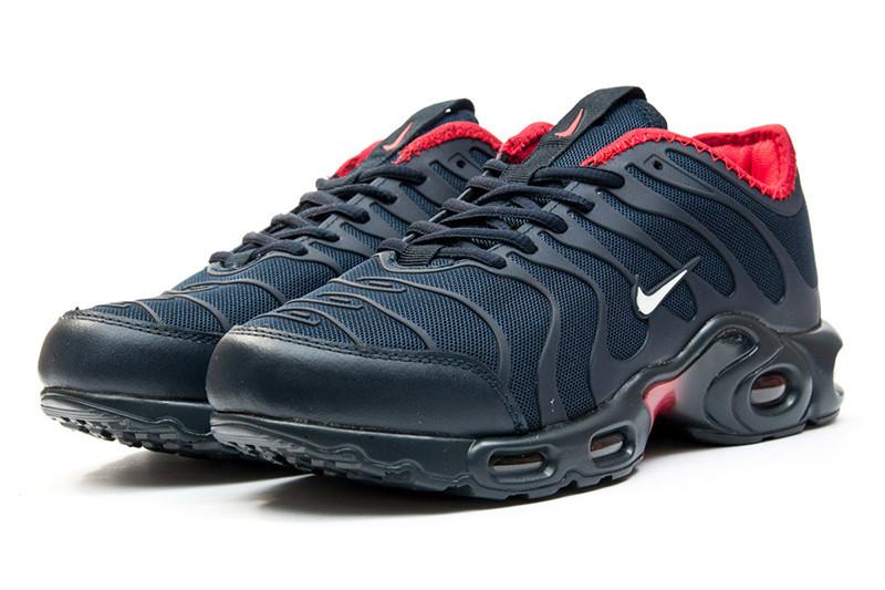 53fff833 Мужские кроссовки Nike Air Max Plus TN Ultra темно-синие с красным