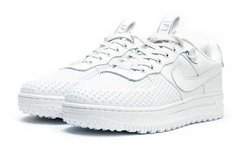 36ff2461 Мужские кроссовки Nike Lunar Force 1 Duckboot Low белые
