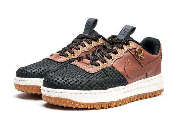 6d334531 Мужские кроссовки Nike Lunar Force 1 Duckboot Low коричневые