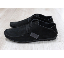 Купить Мужские туфли мокасины черные