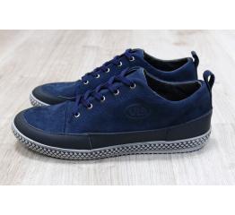Купить Мужские туфли сникеры темно-миние