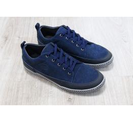 Купить Чоловічі туфлі снікери темно-миние в Украине