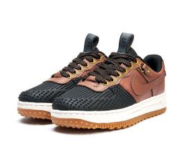 Купить Женские кроссовки Nike Lunar Force 1 Duckboot Low коричневые
