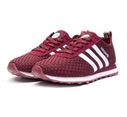 Купить Женские кроссовки Adidas Neo 10k Woven бордовые