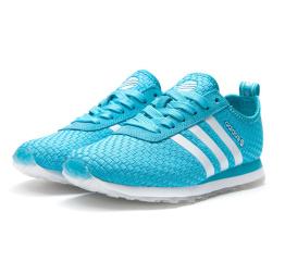 Купить Женские кроссовки Adidas Neo 10k Woven голубые