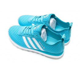 Купить Жіночі кросівки Adidas Neo 10k Woven блакитні в Украине