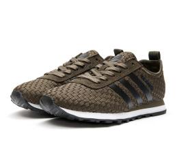 Купить Женские кроссовки Adidas Neo 10k Woven коричневые