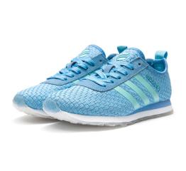 Купить Женские кроссовки Adidas Neo 10k Woven светло-синие