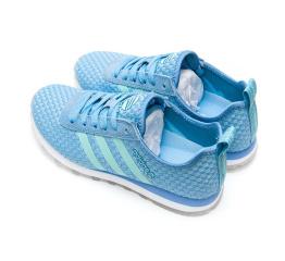 Купить Жіночі кросівки Adidas Neo 10k Woven светло-сині в Украине
