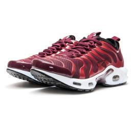 Купить Женские кроссовки Nike Air Max Plus TN Ultra бордовые
