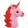 Портативная батарея TOTO TBHQ-91 Power Bank 8800 mAh Emoji Unicorn Pink Red