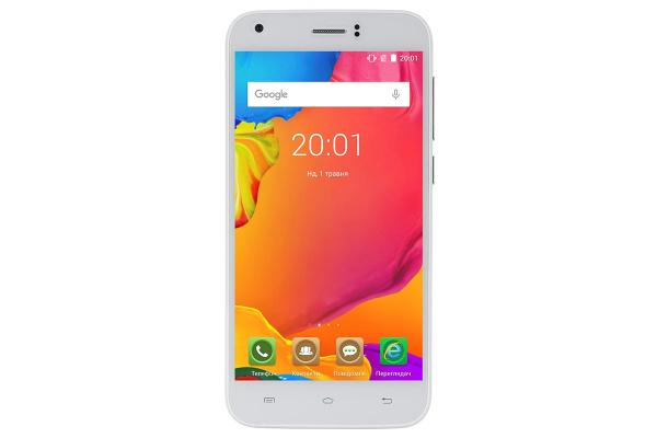 Смартфон Ergo A502 Aurum Dual Sim White