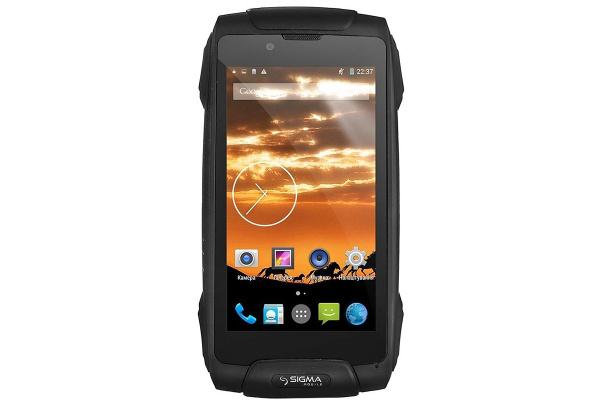 Смартфон Sigma mobile X-treme PQ25 Black