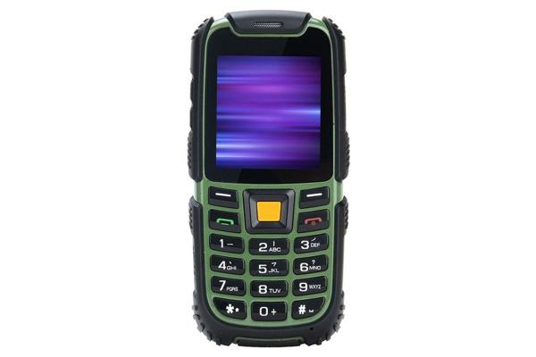 Мобильный телефон Nomi i242 X-Treme Black-Green