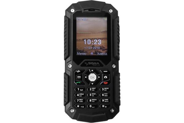 Мобильный телефон Sigma X-treme PQ67 Black