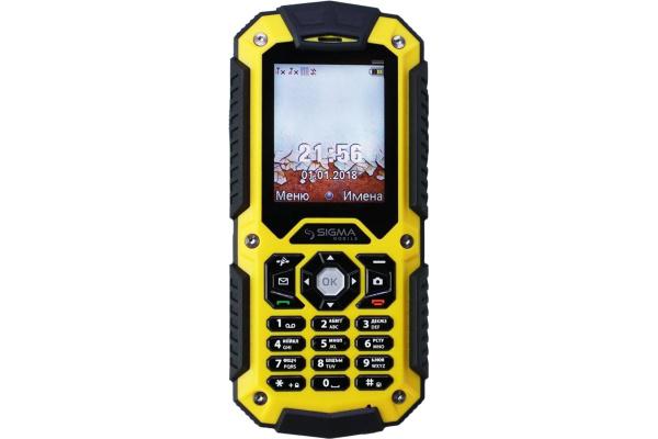 Мобильный телефон Sigma X-treme PQ67 Yellow-Black