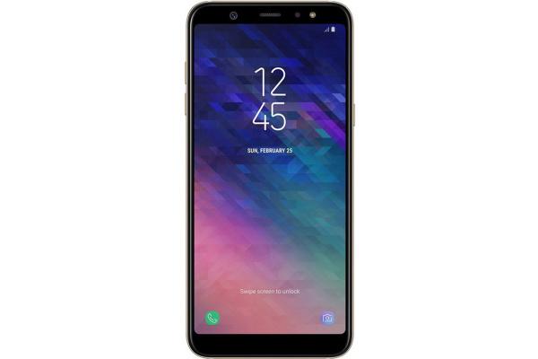 Смартфон Samsung Galaxy A6+ 3/32GB Gold (SM-A605FZDN)