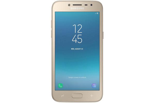 Смартфон Samsung Galaxy J2 2018 LTE 16GB Gold (SM-J250FZDD)