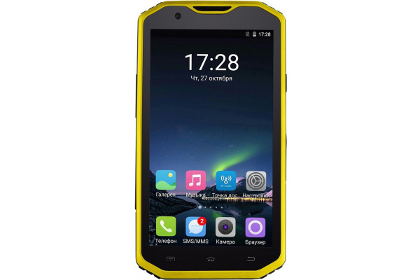 Смартфон Sigma X-treme PQ31 Black-Yellow