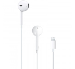 Купить Навушники з мікрофоном Apple EarPods with Lightning Connector (MMTN2) в Украине