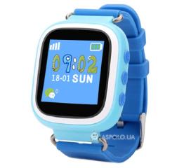 Детские смарт часы Smart baby watch Smartix Q80 Blue