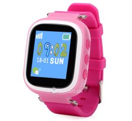 Купить Дитячий смарт-годинник з GPS трекером SmartWatch Q80 Pink