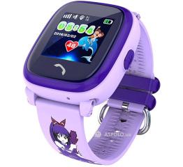 Купить Дитячий смарт-годинник з GPS трекером SmartWatch DF25 GPS pink