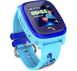 Детские смарт часы Smartix GPS DF25 blue