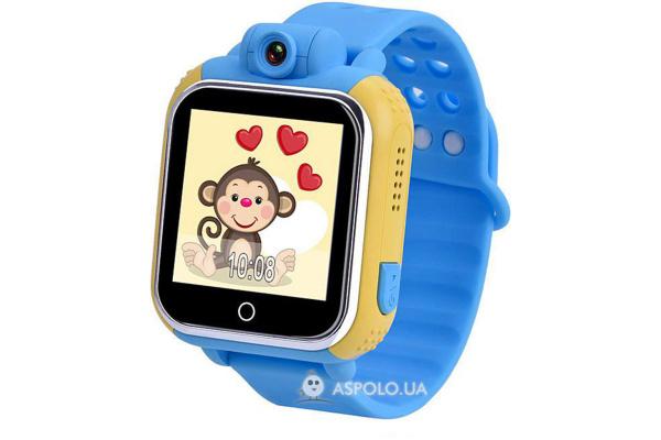 Детские смарт часы Kids Go SW-058B (Blue)