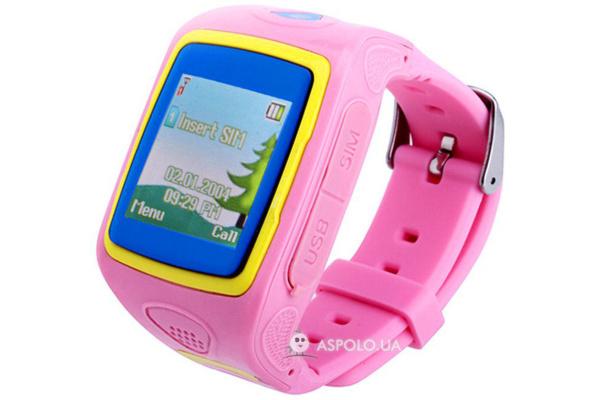 Детские смарт часы с GPS трекером и камерой Smart Watch SW10 pink