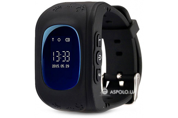 Детские смарт часы GW300 GPS Smart Tracking Watch Black