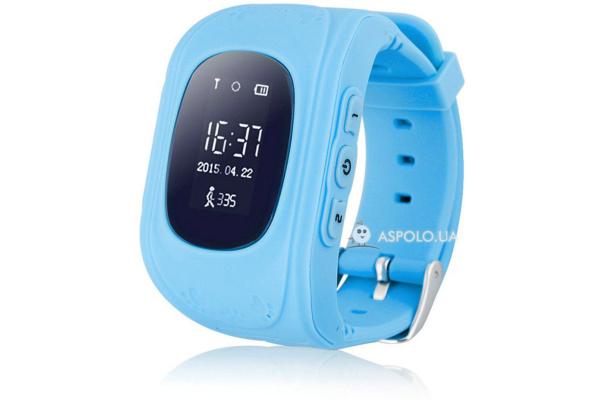 Детские смарт часы c трекером Smart Watch Q50 blue