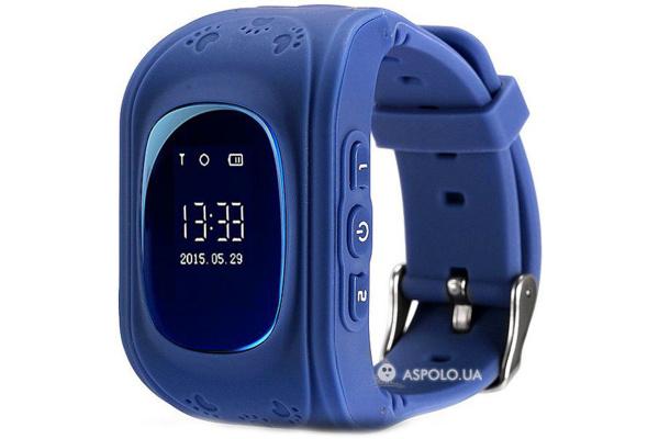 Детские смарт часы c трекером Smart Watch Q50 dark-blue