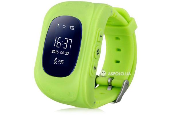 Детские смарт часы GW300 GPS Smart Tracking Watch green
