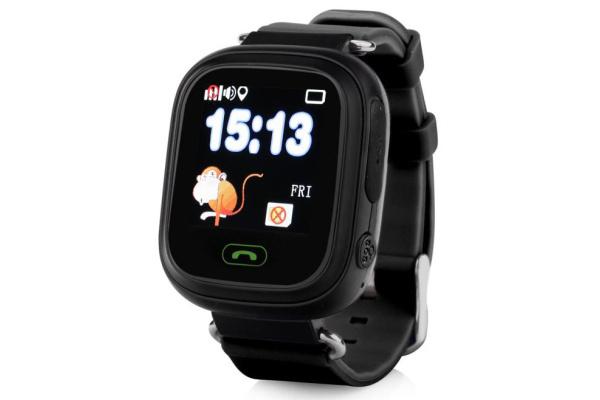 Детские смарт часы Smart Baby Watch Q100 (Black)