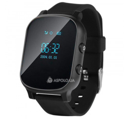 Купить Дитячий смарт-годинник з GPS трекером Smart Watch TW58 black