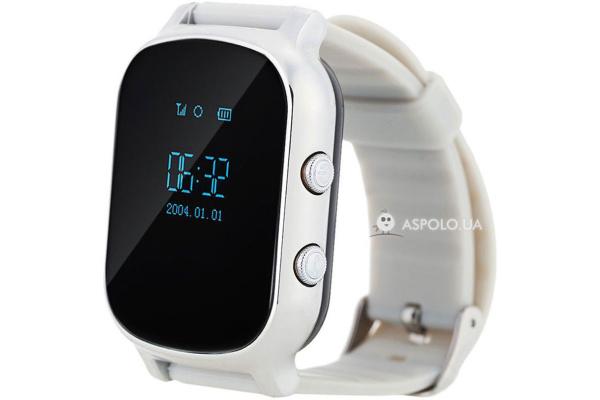 Детские смарт часы с GPS трекером Smart Watch TW58 silver