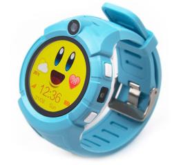 Детские смарт часы SLMM Q610 Wi-Fi GPS Blue