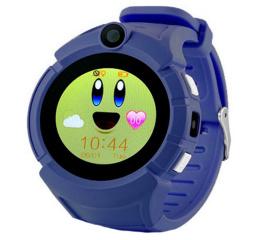 Детские смарт часы SLMM Q610 Wi-Fi GPS Dark-blue