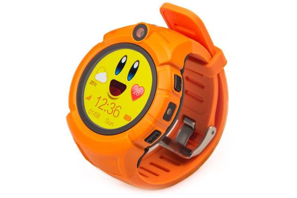Детские смарт часы Smart Baby Watch Smartix Q360 (G610) orange
