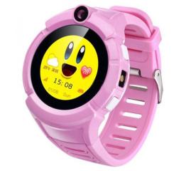 Детские смарт часы SLMM Q610 Wi-Fi GPS Pink