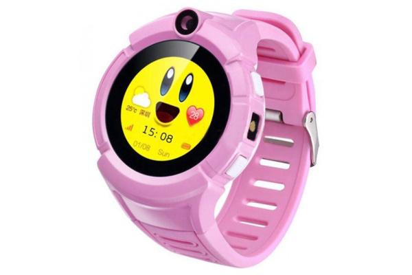 Детские смарт часы Smart Baby Watch Smartix Q360 (G610) pink