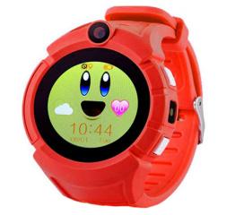 Детские смарт часы SLMM Q610 Wi-Fi GPS Red