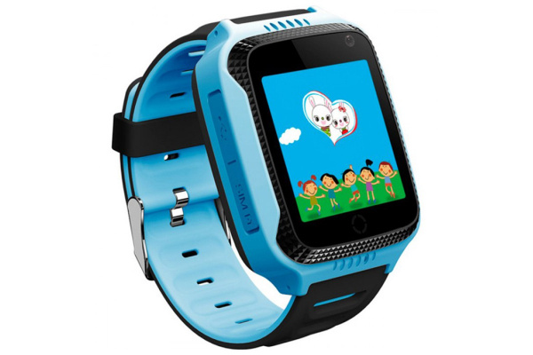 Детские смарт часы Smart Baby Watch Smartix G900A (Q65/T7) blue