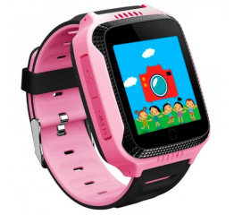 Купить Дитячий смарт-годинник з GPS трекером и камерой Smart Baby Watch T7 pink