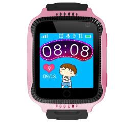 Купить Дитячий смарт-годинник з GPS трекером и камерой Smart Baby Watch T7 pink в Украине