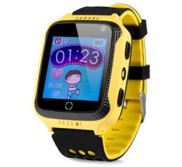 Купить Дитячий смарт-годинник с GPS трекером Q528 yellow