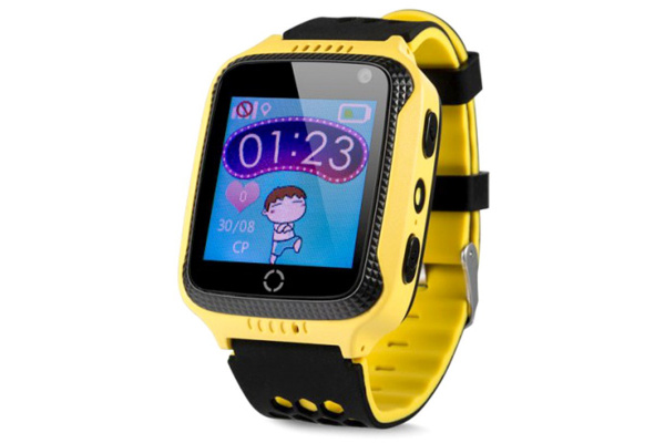 Детские смарт часы Smart Baby Watch Smartix G900A (Q65/T7) yellow